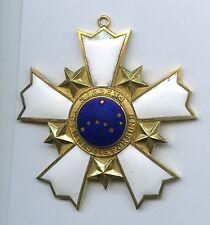 Nordic gymnastics federation Order Medal Cross Star Pin Badge Award