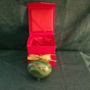 Designer Christmas Ornament Tori Spelling Signed & Numbered