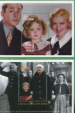 Shirley Temple The Little Princess Single Souvenir Stamp Sheet Set Antigua E61c