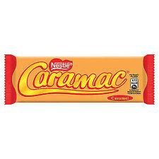108 Riegel Caramac Nestle Neu frisch a 30g Karamel