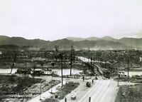 Hiroshima Atomic Bomb Destruction PHOTO Japan Near Ground Zero Nuclear Blast