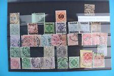 Norddeutscher Postbezirk Lot stamp Briefmarke Michel Mi lot Posten TOP