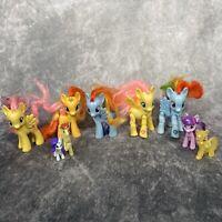My Little Pony 9 x Bundle Lot Articulated Ponies Rainbow Dash Gift Hasbro