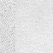 Schulte Traditions-Mohair glatt - Farbe: weiss  25 x 47 cm  - Flor 18 mm