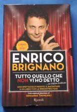 Enrico Brignano - Tutto quello che non vi ho detto LIBRO + DVD