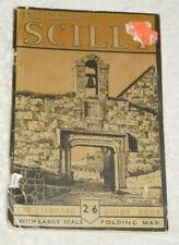 The Isles of Scilly guide book with folding map
