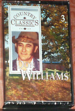 DON WILLIAMS COUNTRY CLASSICS ROMANTICALLY YOURS CASSETTE 3 RDC 92573 NEW SEALED