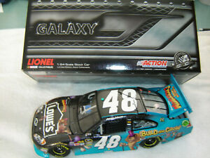 NASCAR 2012 JIMMIE JOHNSON # 48 MADAGASCAR 3 LOWES GALAXY VERSION 1/24 ONLY 248