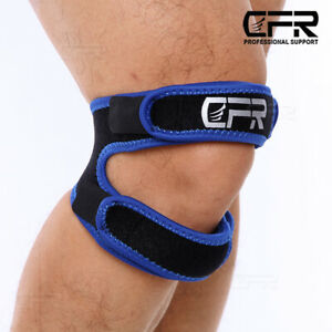 Knee Support Compression Strap Brace Sport Joint Pain Relief Arthritis Running