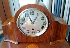 Large dual chime Haller Westminster Whittington German mantel clock
