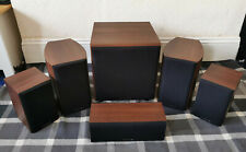 Wharfedale Diamond 9 Walnut HCP Speakers 5.1 sub woofer (9.1, 9.0, 9 CC, SW 150)