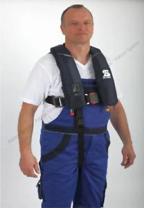 Secumar Alpha TWZ Twin Chamber 275N SOLAS Lifejacket With Harness