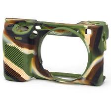 EasyCover silicone pelle morbida custodia Cover Sony A6300 A6000 in Camoflague (UK)