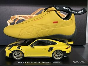 Porsche Design Puma SpeedCat 911 Turbo 991 SIZE 7.5 Yellow Golden Sneakers LIMIT