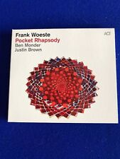 NEW Frank Woeste Pocket Rhapsody CD Promo Copy Jazz ACT 2016 Monder Brown