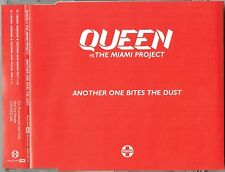 """QUEEN  vs THE MIAMI PROJECT - 5"""" CD - Another One Bites The Dust. 2 Track Promo"""