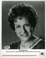 Jean Stapleton Psa Dna Coa Autograph 8x10 Photo Hand Signed
