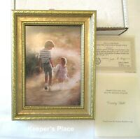 Donald Zolan COUNTRY WALK Framed Signed Lithograph Print COA Brochure Box New