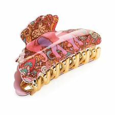 Tono Rosa Elefante Diseño Pelo Clip de la Garra