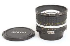 Nikon AI-S Nikkor 20mm F2.8 Obiettivo Supergrandangolo piccoli segni lene anter.