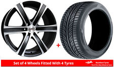 Shogun One Piece Rim Wheels with Tyres 6 Number of Studs