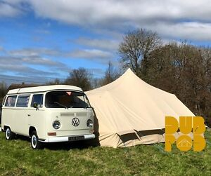 DubPod -  Drive Away Camper Van Canvas Awning by Bell Tent Boutique