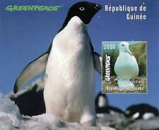 STAMP / TIMBRE GUINEE BLOC FEUILLET ** NEUF N° 131 FAUNE OISEAUX COTE + 10 €