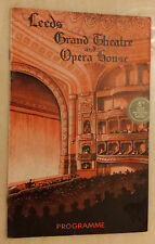 1952 Leeds Grand Theatre  Sidney Pointer Alice Maud in THE DESERT SONG