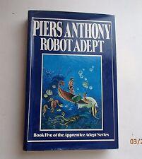 Robot Adept  Bk 5 of Apprentice Adept  Piers Anthony HB/DC 1st Edition