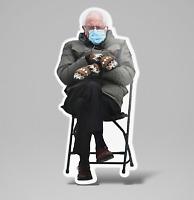 Bernie Sanders Meme Inauguration 2021 / Sticker / Vinyl Decal / Laminated