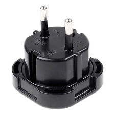 UK TO EU Europe European Travel Adapter AC Power Plug Socket 2Pin Converter Hot