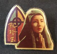 old Hong Kong actress 張曼玉 MAGGIE CHEUNG movie 阮玲玉 pin badge
