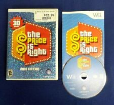 Nintendo Wii THE PRICE IS RIGHT 2010 Edition Includes 30 Games 100% COMPLETE