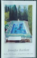 "Jennifer Bartlett ""In The Garden #68""  Walker Art Center Exhibition POSTER 1985"