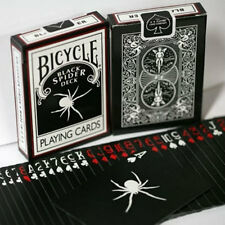 Bicycle Black Spider Deck - Playing Cards - Magic Tricks - New