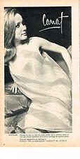 PUBLICITE ADVERTISING  1965   CANAT  nuistte chemise de nuit lingerie