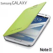 Nuevo y Sellado Original Samsung Galaxy Note II FUNDA VERDE