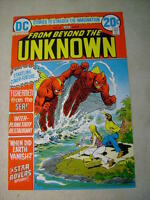 FROM BEYOND THE UNKNOWN #20  ART original cover proof 1970's SEA MONSTERS