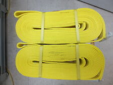 2 x Boxer Heavy Duty Tow Straps, 2 in. x 30 ft., 20,000 lb. Rating, #98230R-USA!