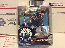 MCFARLANE NHL 31 RYAN NUGENT HOPKINS  EDMONTON OILERS Factory Sealed SHIPS INT'L