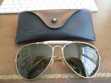 Vintage American Command Aviator Sunglasses With Case