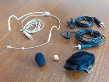 Sennheiser EW100 ME2, ME4 lapel and headset microphones