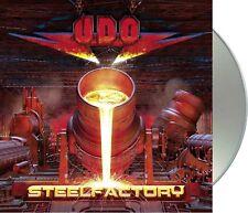 "U.D.O. ""steelfactory"" CD NEU Album 2018"