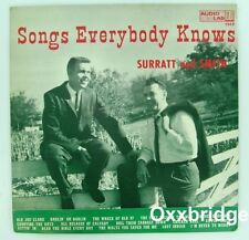 SURRATT AND SMITH Songs Everybody Knows AUDIO LAB Rare Country Gospel BLUEGRASS