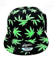 Premium Weed Leaves Era Snapbacks Baseball Cap Dope Ganja Kush Hats.