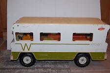 VINTAGE 1970's MIGHTY TONKA WINNEBAGO INDIAN MOTORHOME RV PRESSED STEEL