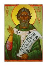 More details for st patrick a4 religious poster. choice of frame.