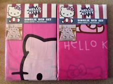 Hello Kitty Single Duvet Set Bedding Girls Bedroom - New In Pack