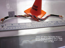 "Vizio 32"" D32x-D1 Cable From-> Power Board [CN9101] TO-> Main Board [CN701]"