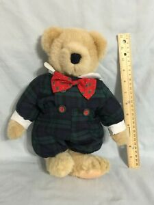 """13""""  FUZZY VanderBear-Tree Trimming Collection ~ 1982 North Am. Bear Co.  (D89)"""